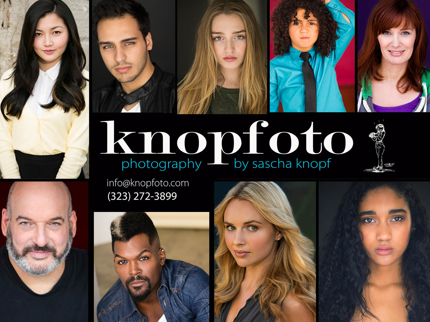 Headshot Photography by Sascha Knopf-Knopfoto
