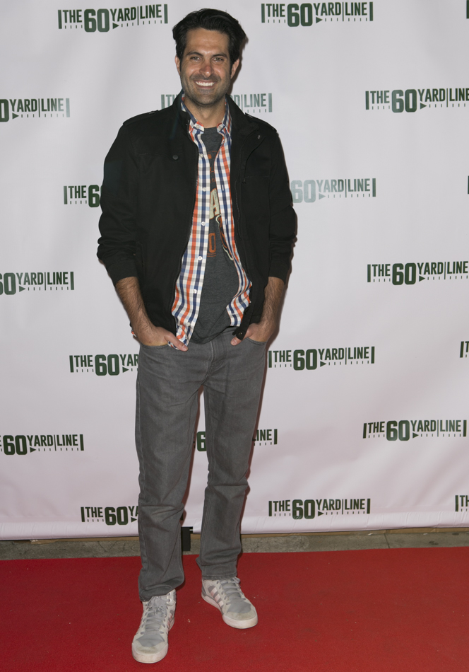 "red carpet ready, Actor Nick Greco at the Los Angeles premiere of ""The 60 Yard Line"" Photo by Sascha Knopf : Knopfoto"